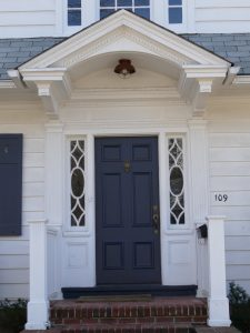 Doorway at 109 Edgemont Road