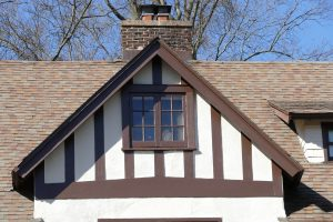 Tudor half timber at 130 Edgemont Road