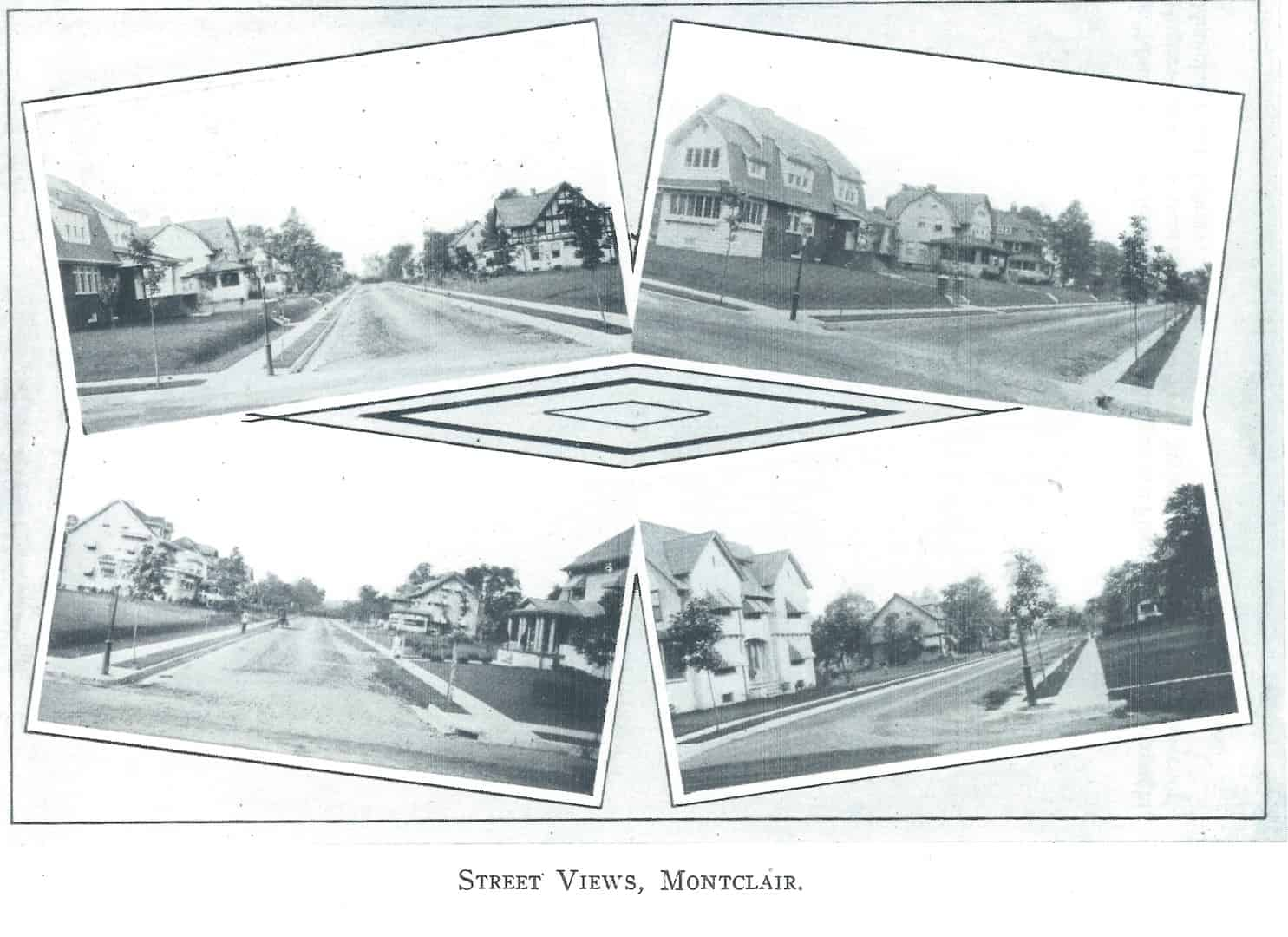 Figure 1-Street Views - Oakcroft - c. 1908-1916