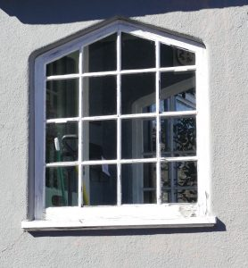 Tudor arch window at 12 Godfrey Road
