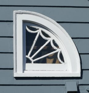 Attic fan window at 44 Godfrey Road