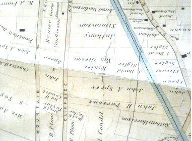 1878 Oakcroft Area Map