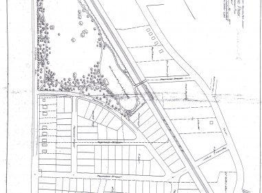 1903 Oakcroft Area Map