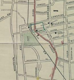 1904 Oakcroft Area Map