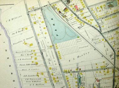 1906 Oakcroft Area Map
