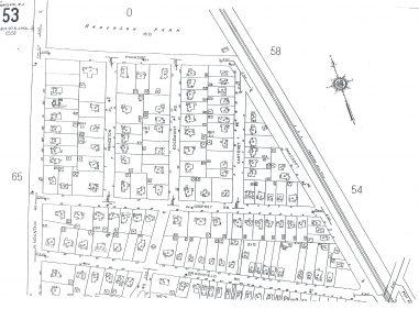 1934 Oakcroft Area Map