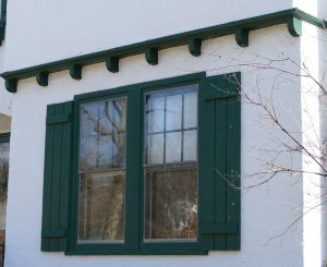 Shutters at 25 Princeton Place