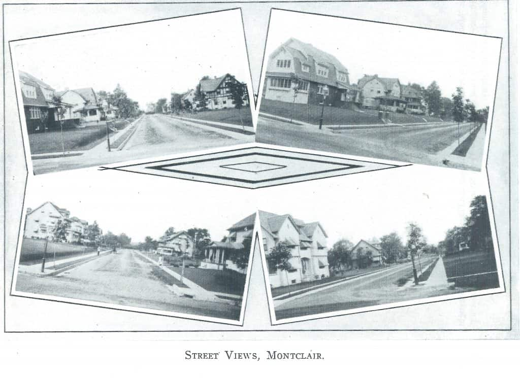 Street views of Oakcroft, 1910-1913