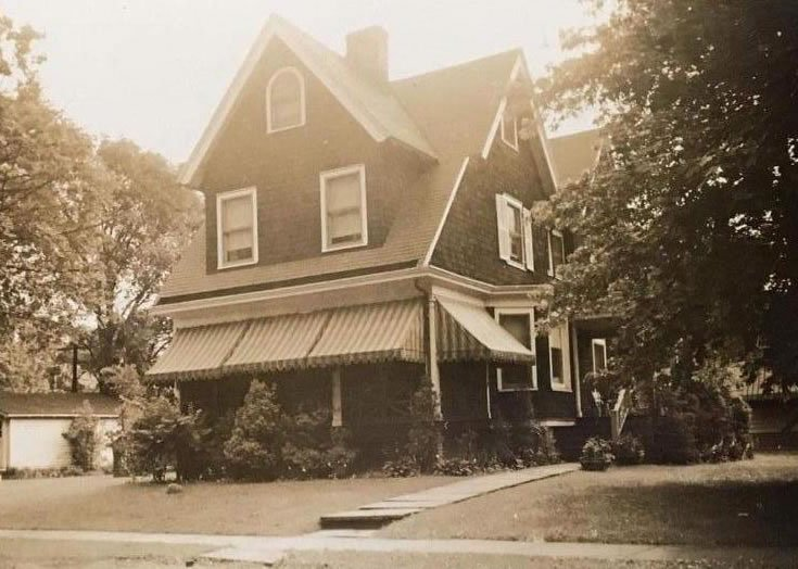 House at 91 Edgemont Road c.1943-1949